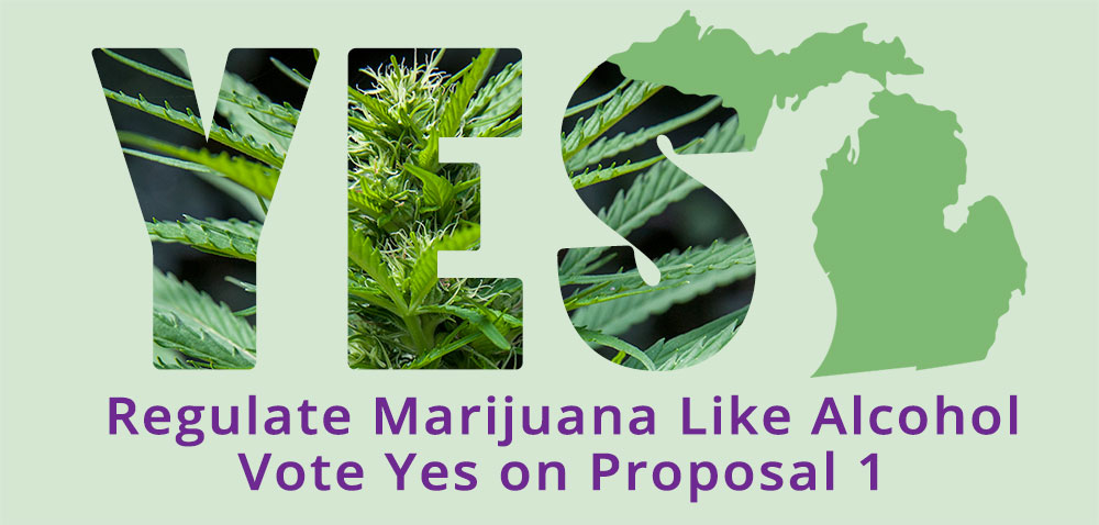 5 Reasons to Vote Yes for Proposal 1 – Regulate Marijuana as Alcohol
