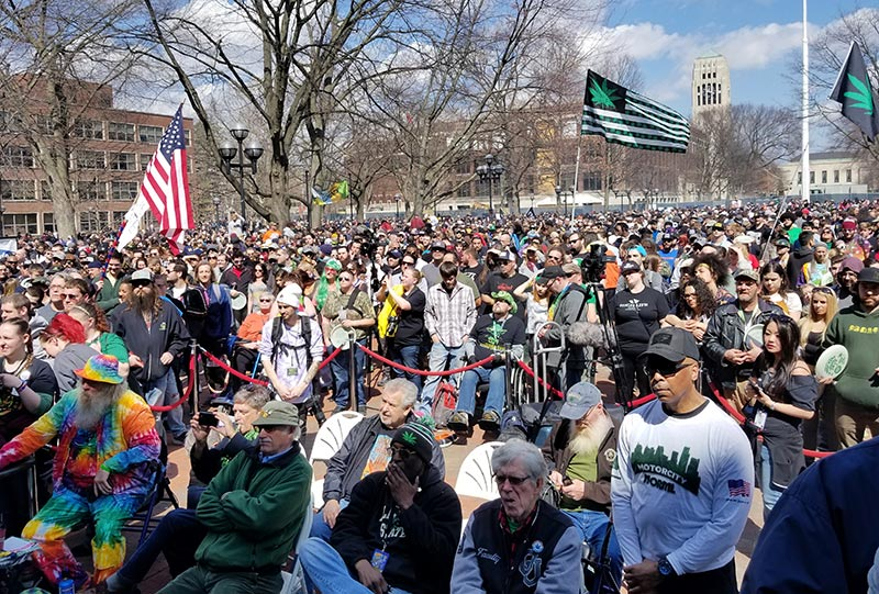 Hash Bash Crowd