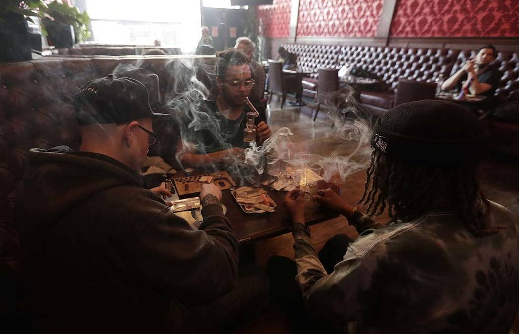 First in the State, Las Vegas Approves Marijuana Lounges