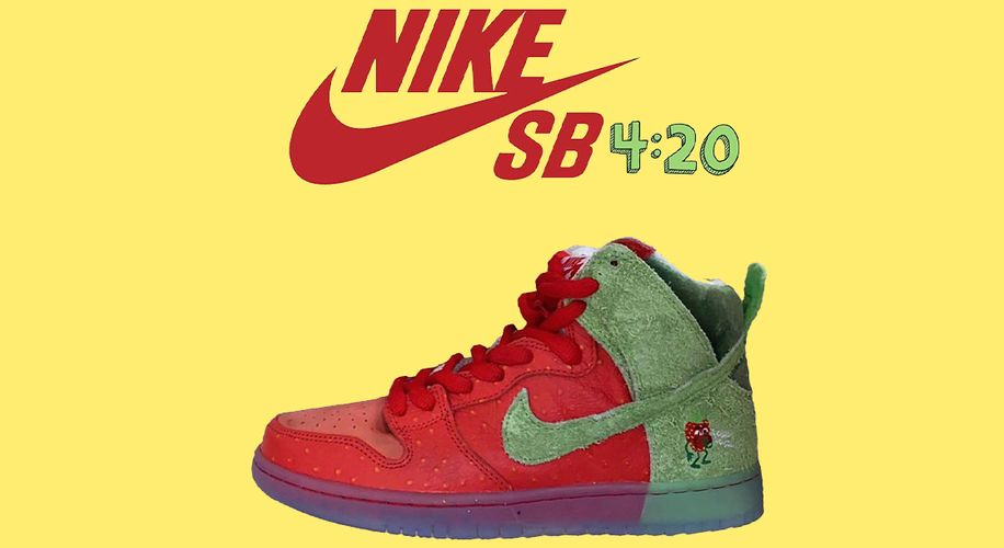 "Check Out Leaked Photos of Nike's New ""Strawberry Cough"" Sneakers for 4/20"