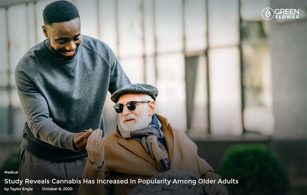 Study Reveals Cannabis Has Increased In Popularity Among Older Adults