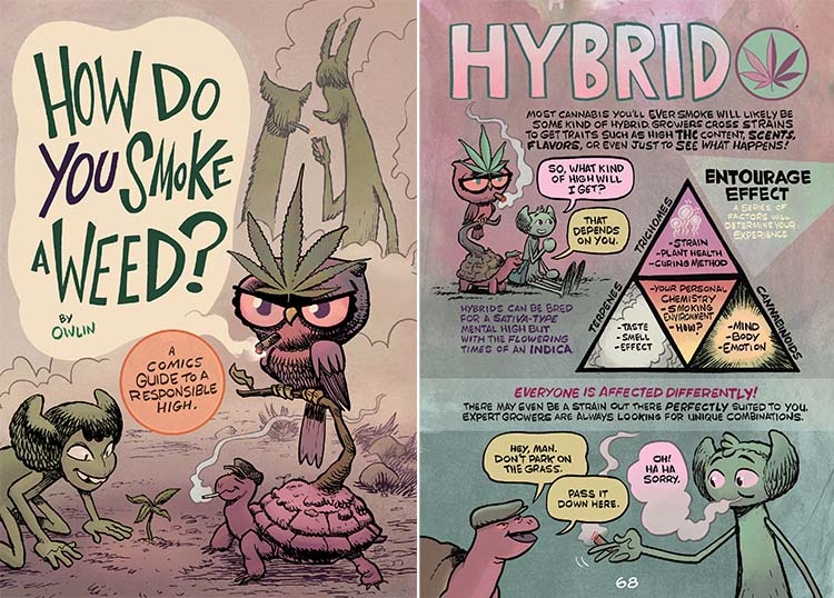 "Book (Comic) Review: ""How Do You Smoke a Weed"""