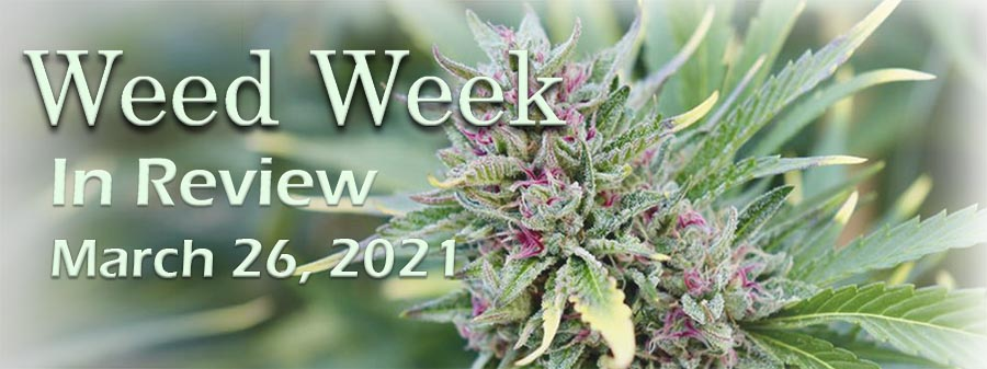 Weed Week in Review March 26, 2021